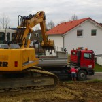 Aushubarbeiten Altusried 2013