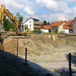 Aushubarbeiten Dietmannsried 2013 2 Doppelhäuser mit Tiefgarage (2)