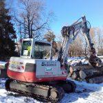 mithilfe bei Baumfällarbeiten WWA KE